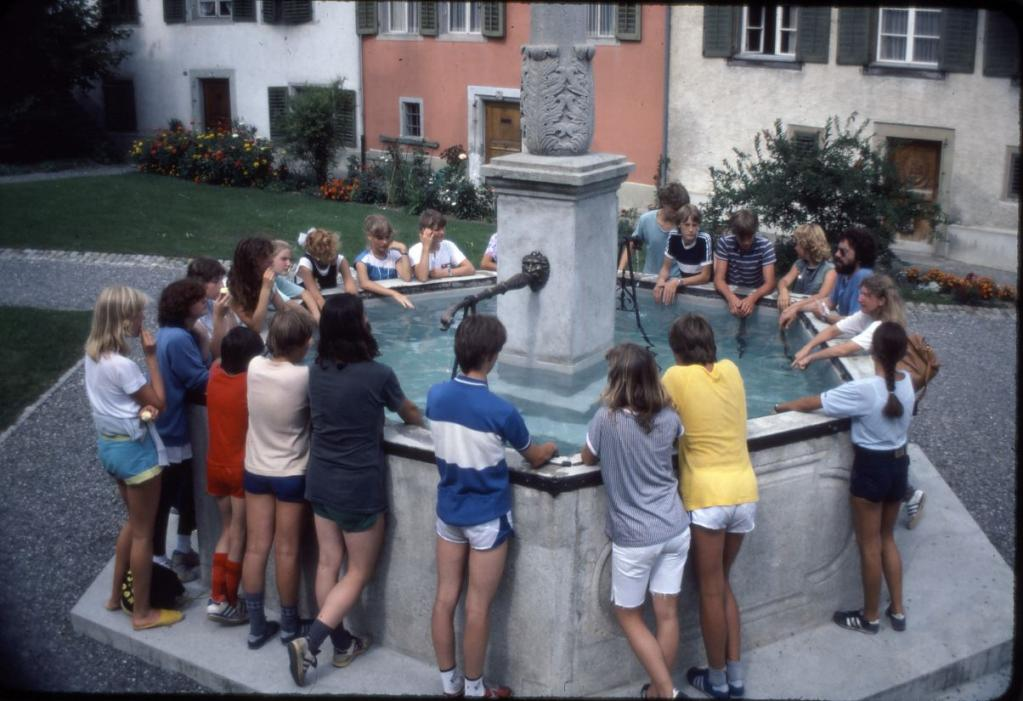Schulreise 1983 in Beinwil a. See